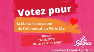 Votez pour La Source au budget participatif de Paris